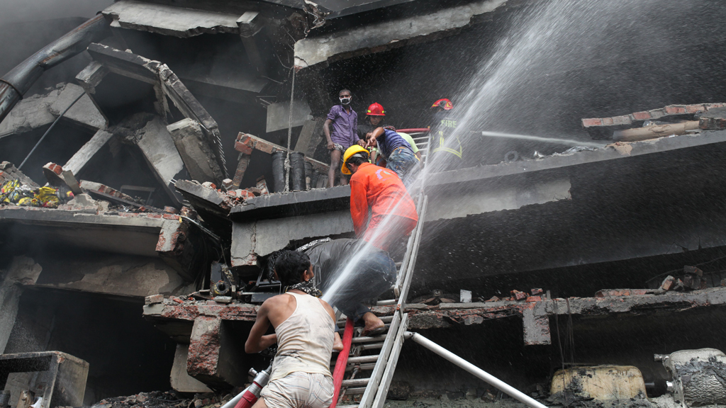 At least 15 dead in Bangladesh factory fire