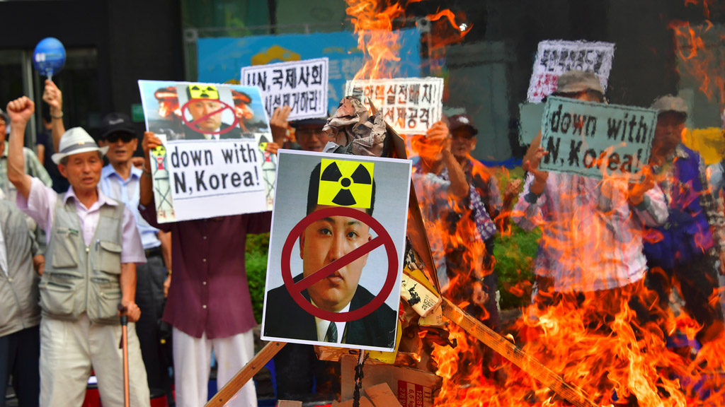 North Korea says nukes are defence against US 'blackmail'