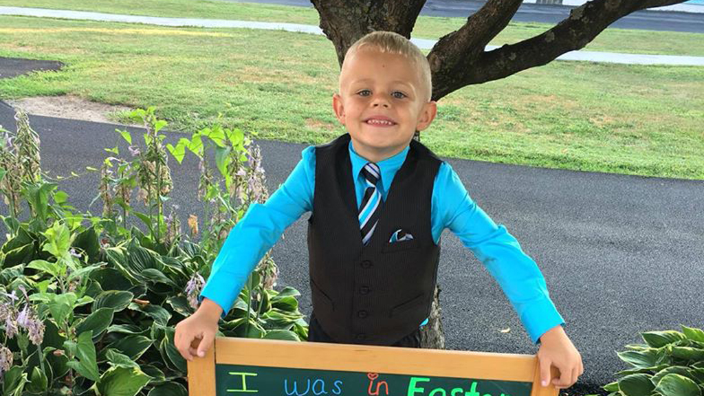 Adopted US boy hopes to be foster parent one day