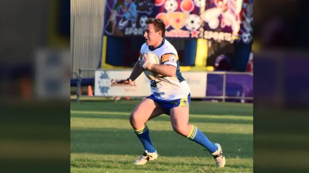 The local rugby league community is shocked by the death.