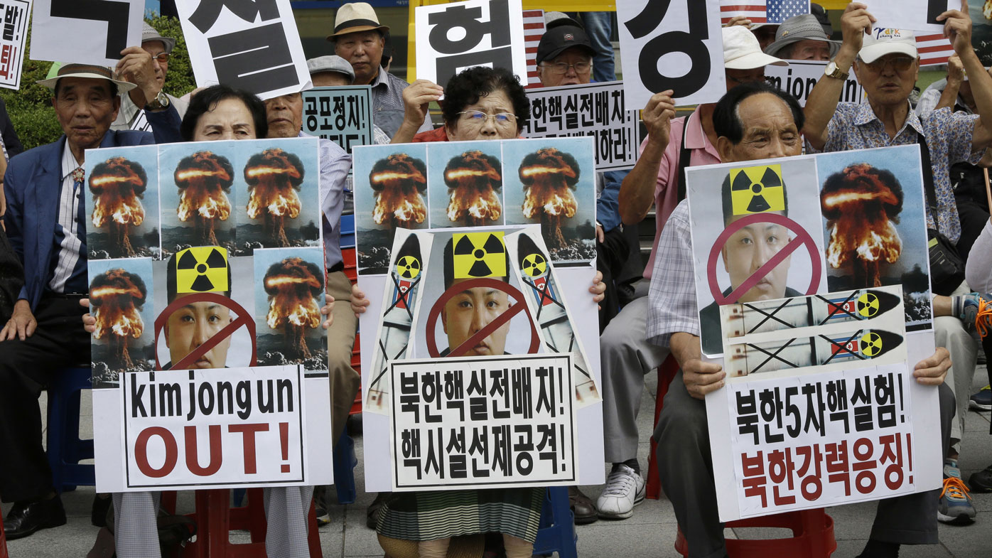 South Korea boast of plan to 'annihilate' Pyongyang if nuclear mission continues