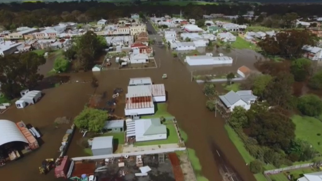 The Victorian town of Casterton is among numerous regions set to receive more rain. (Supplied)