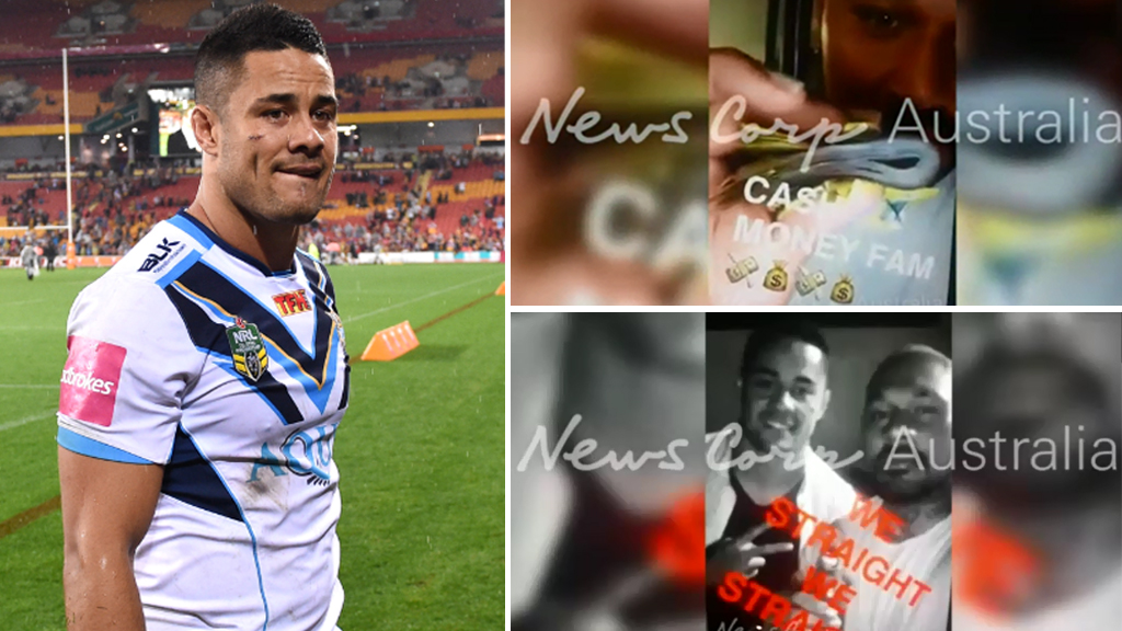 Jarryd Hayne, and footage obtained by News Corp. (AAP, and News Corp)