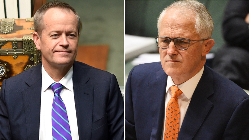 The Coalition's popularity has jumped ahead of Labor in the past three weeks.