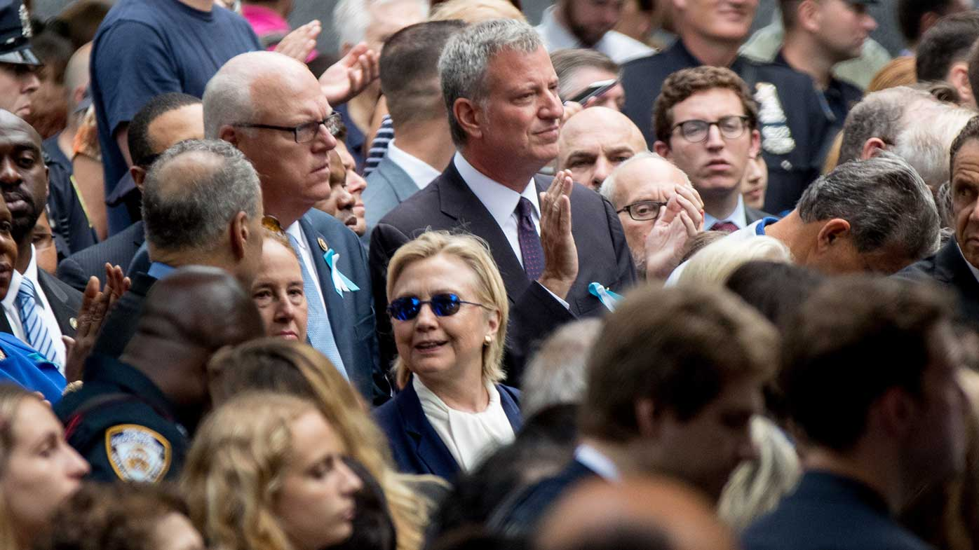 The Hillary Clinton campaign made a case of pneumonia a major news story