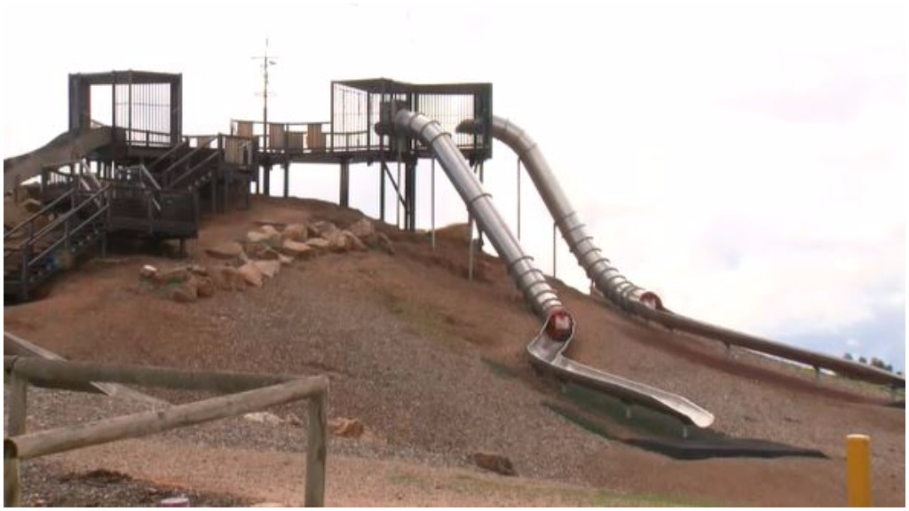 Fixing Adelaide playground tube slides to cost $340k amid rise in injuries