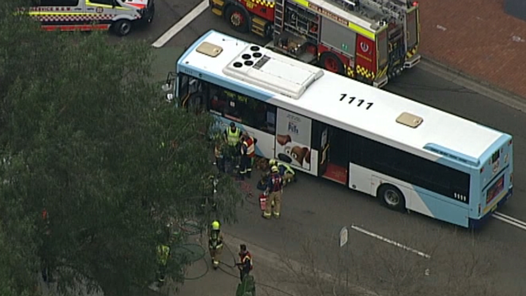 Police are investigating the collision. (9NEWS)