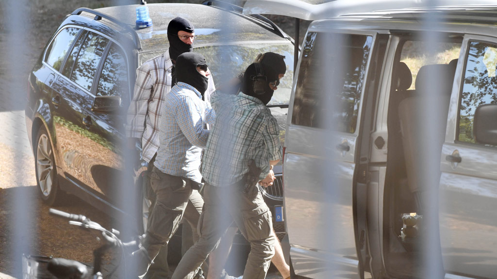Three men with forged Syrian passports have been arrested. (AFP)