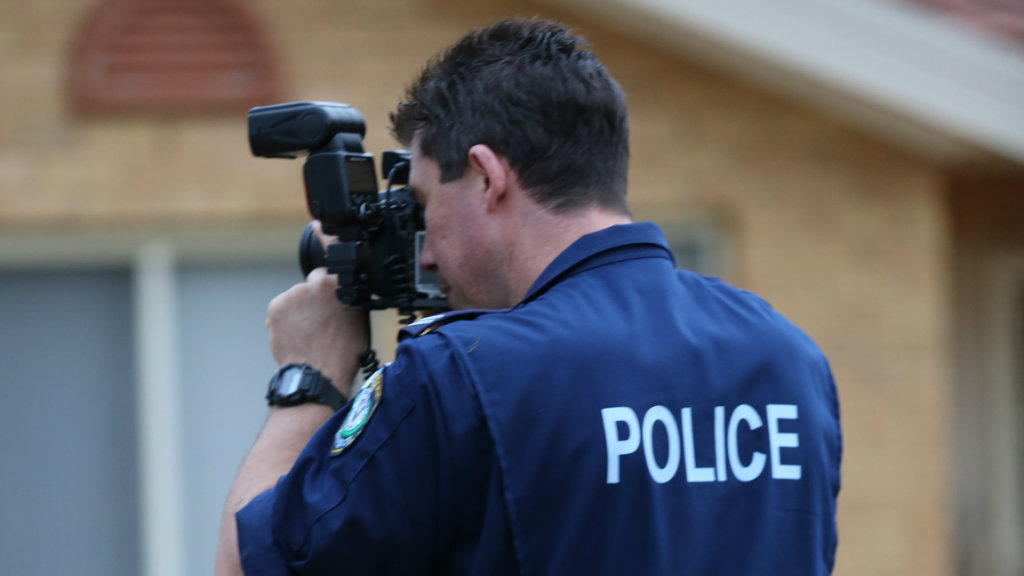 Homes in Muswellbrook and Scone were targeted in the operation. (NSW Police)