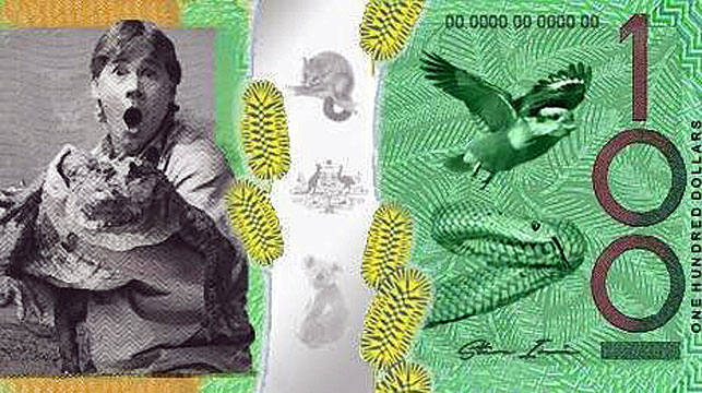 Melbourne teens petition for 'Crocodile Hunter' to feature on Aussie banknote