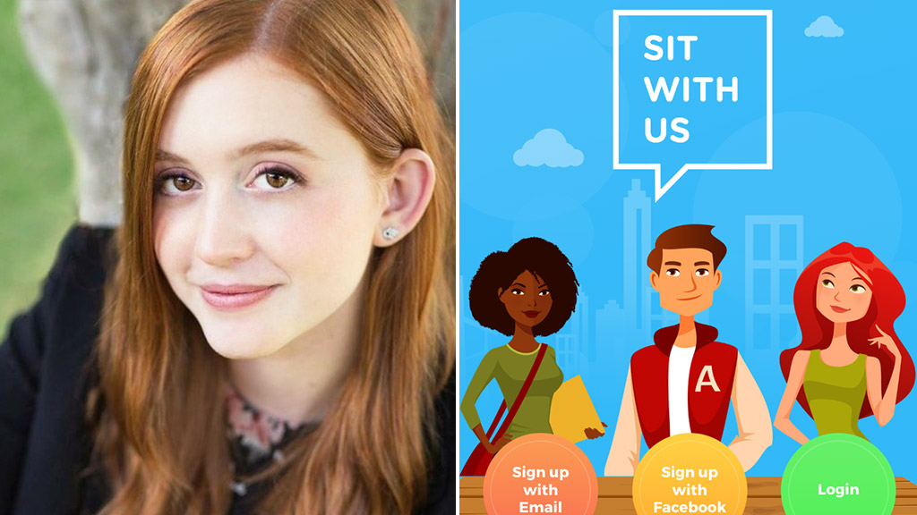 Teenager launches app to help students find lunch buddies and battle bullying