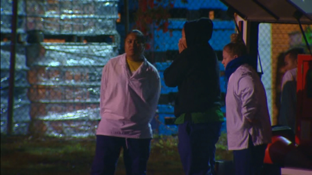 Police were called to a man making threats at a Wacol business about 10pm. (9NEWS)