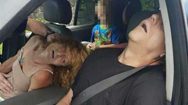 US boy in car with overdosed grandmother gets a new home