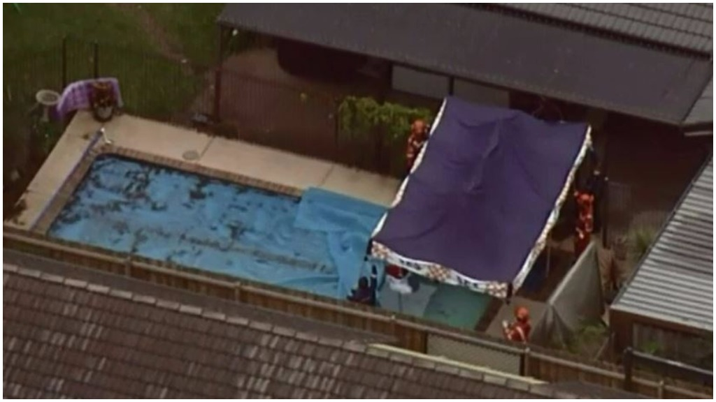 Brenda Goudge's body was found in a swimming pool at her Wantirna South home. (9NEWS)
