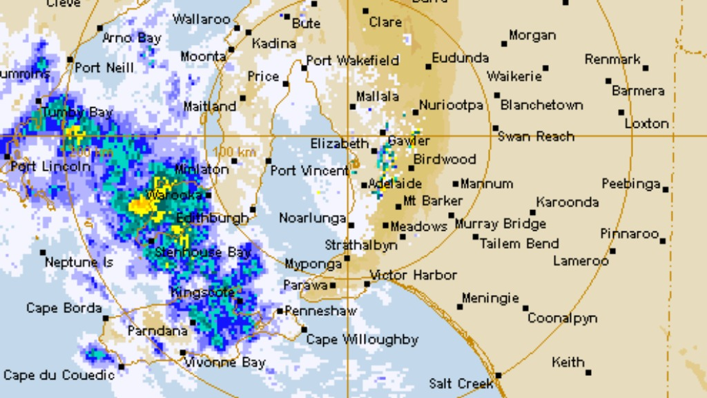 Flood warning issued for Adelaide Hills as rainfall continues