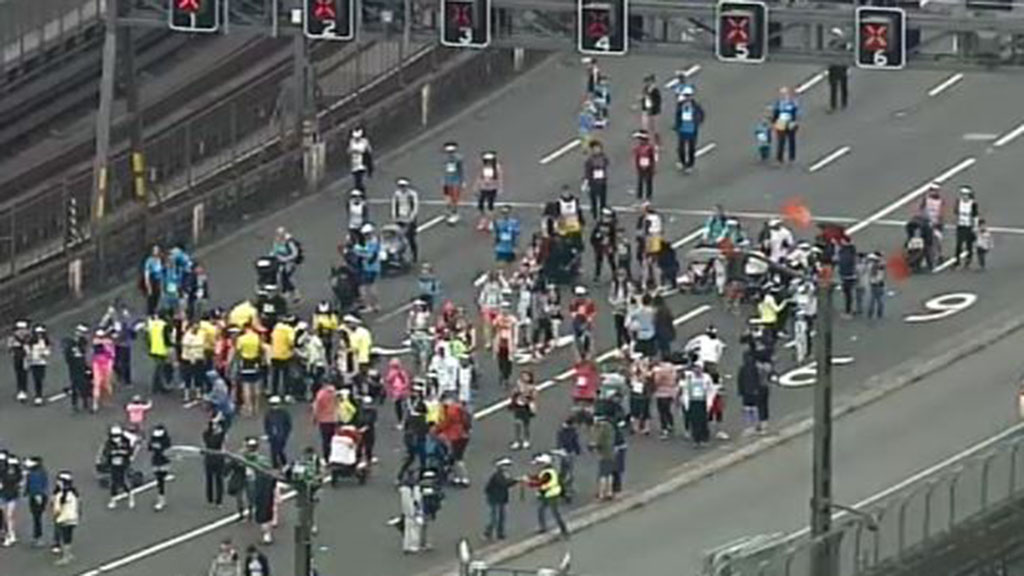 The bridge is set to re-open at 11am. (9NEWS)