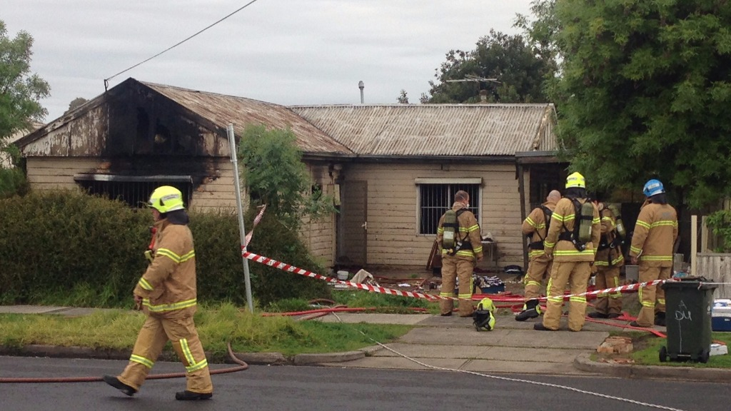 Suspicious fires damage home and shed in Melbourne