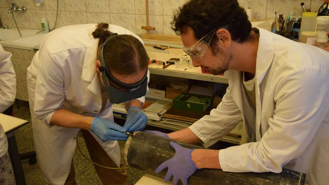 Archaeologists recover Nazi-era time capsule