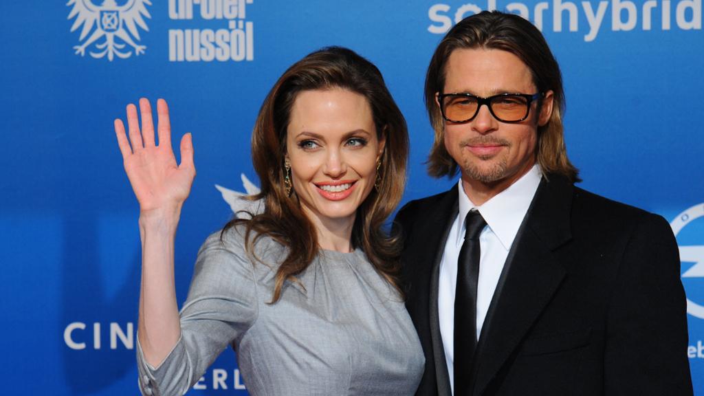 Angelina Jolie and Brad pitt. (AFP file image)