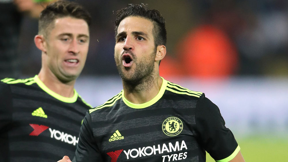 Cesc Fabregas on Antonio Conte and transfer talk