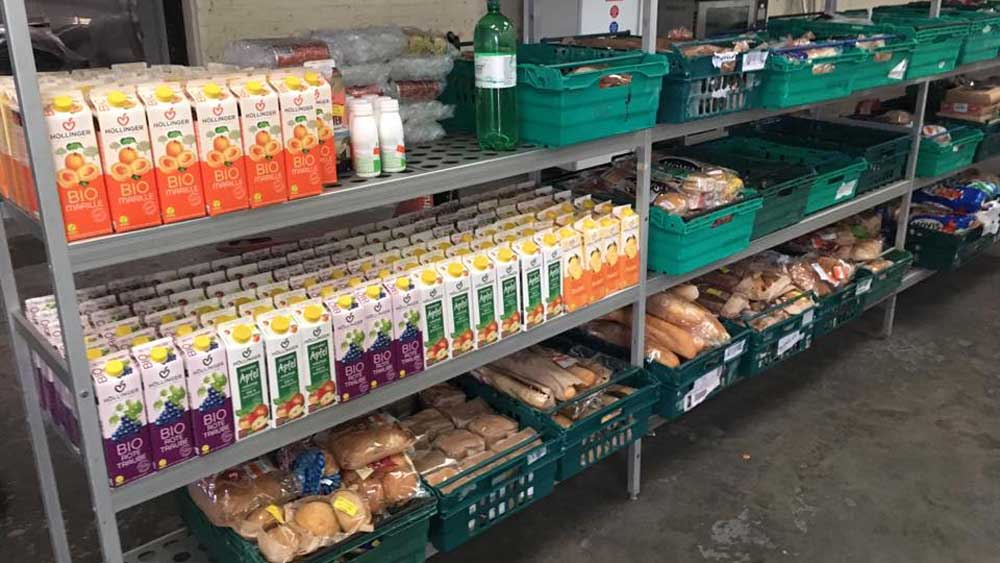 The Real Junk Food Project's waste supermarket
