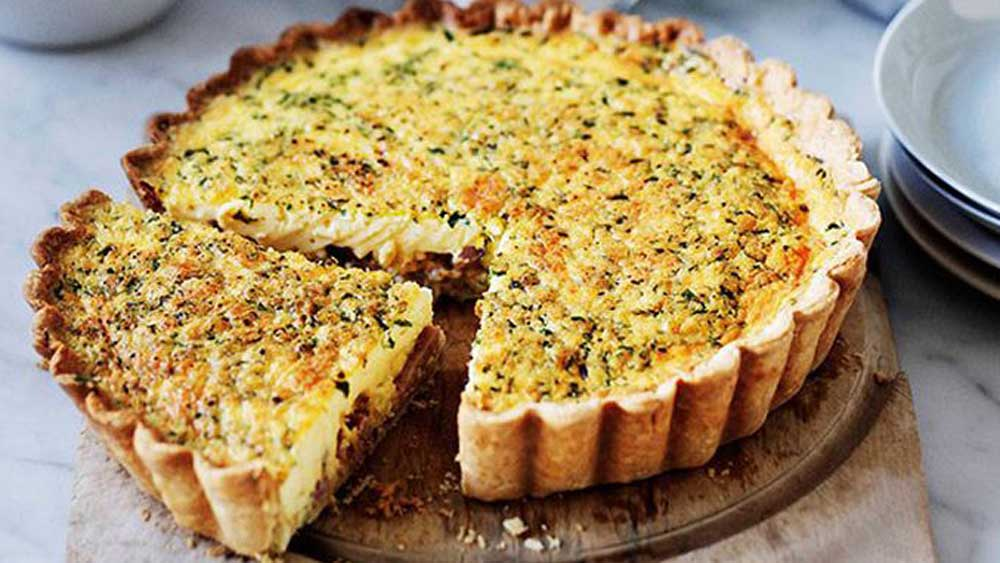 Comforting quiche