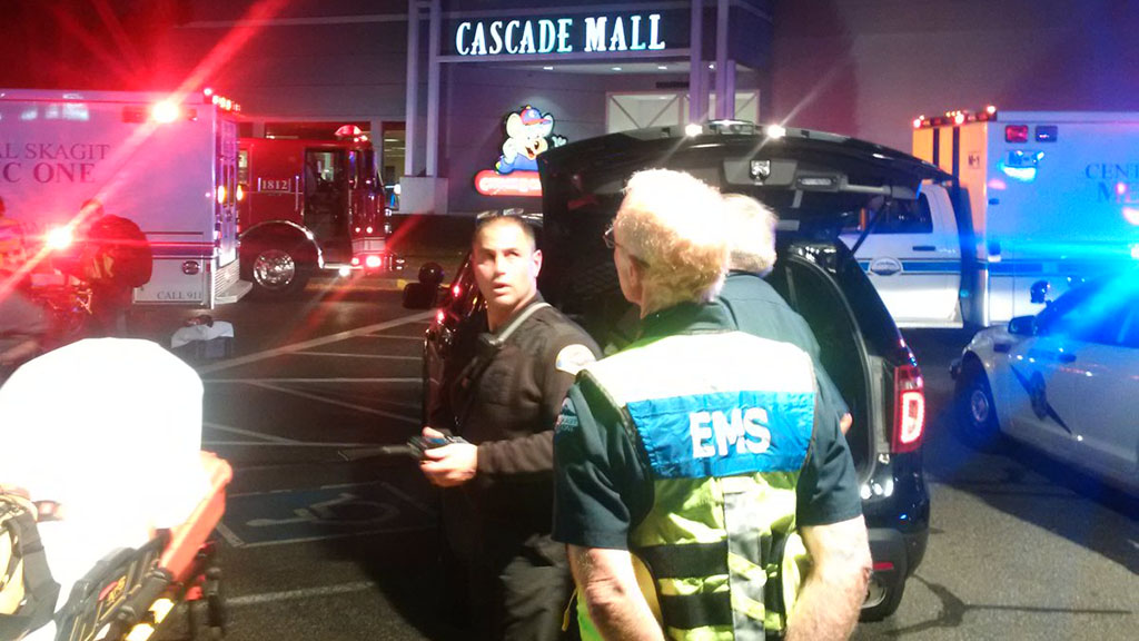 Four people have been killed in a shooting at a Seattle mall. (Twitter)
