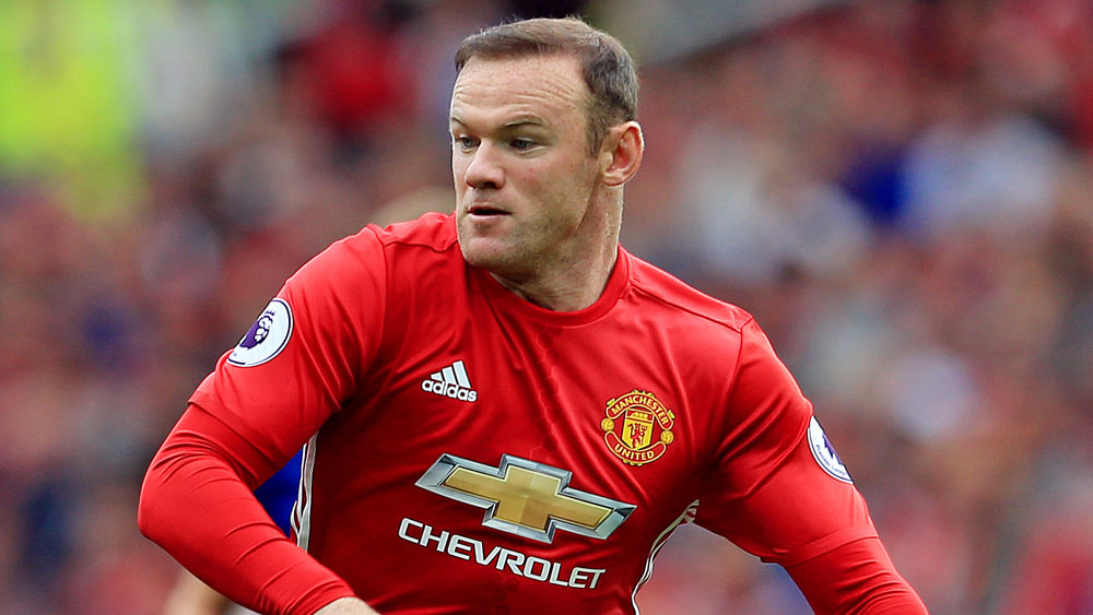 Manchester United skipper Wayne Rooney. (AAP)