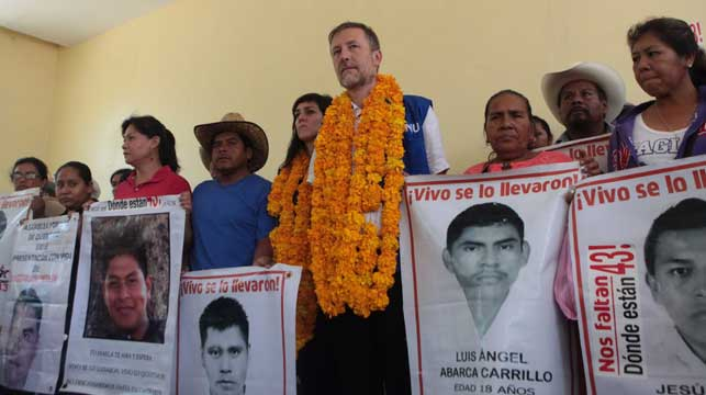 Mexican parents refuse to give up hope for missing students