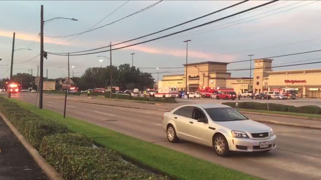 Nine people injured after shooter opens fire at US mall, suspect dead