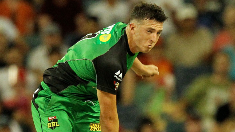 Daniel Worrall playing for the Stars in the Big Bash League. (AAP)