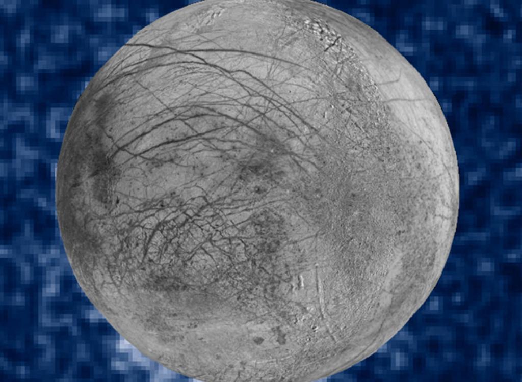 Jupiter's moon Europa. (NASA)