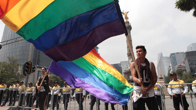 Mexican marriage activists out gay priests