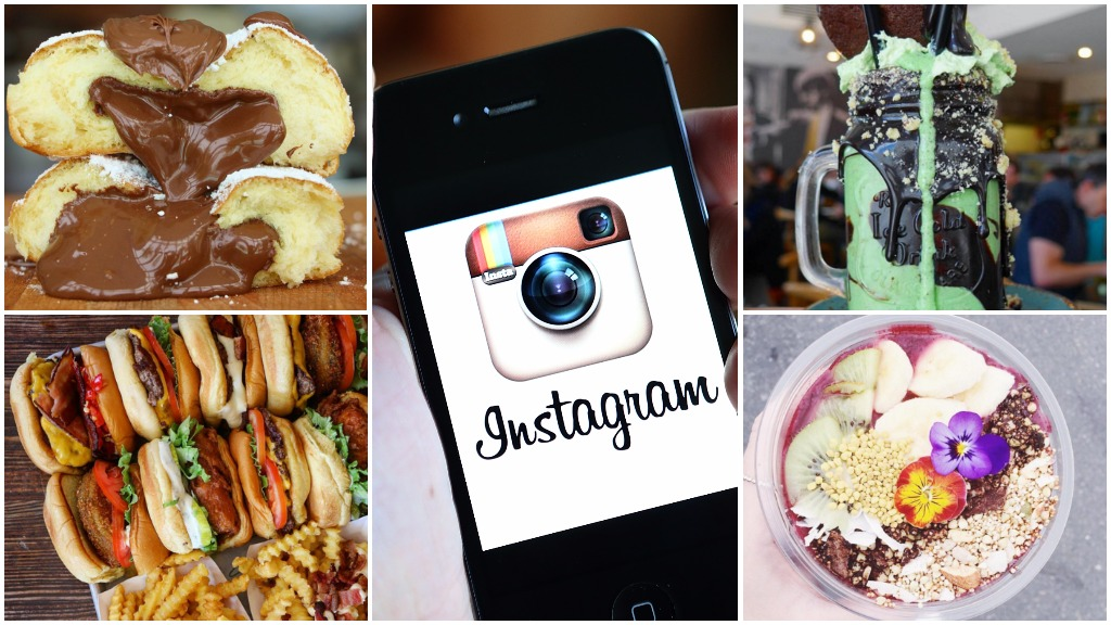 Delete an Instagram food photograph to feed the hungry