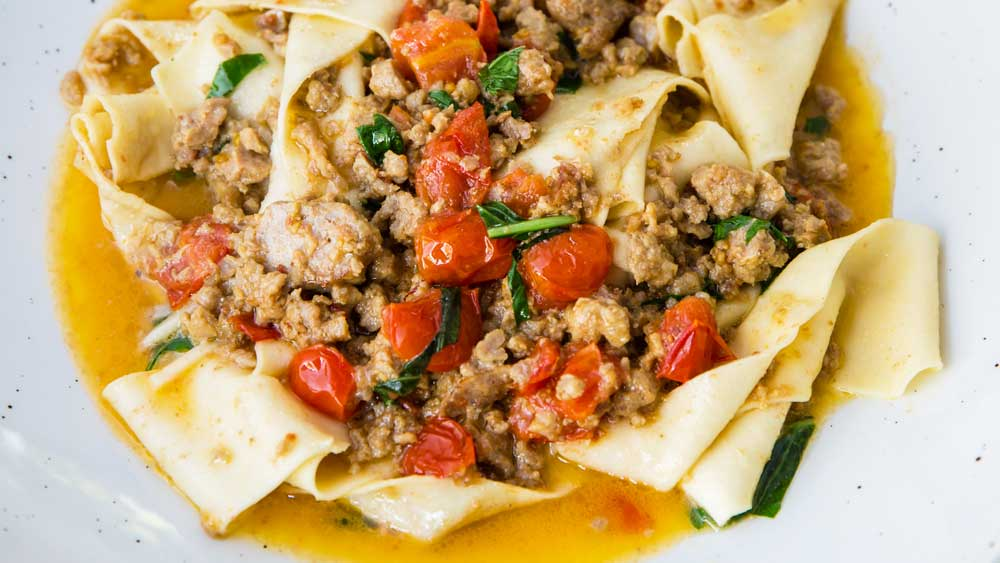 Salsa bolognese bianco by Paola Toppi. Photography: Nikki To