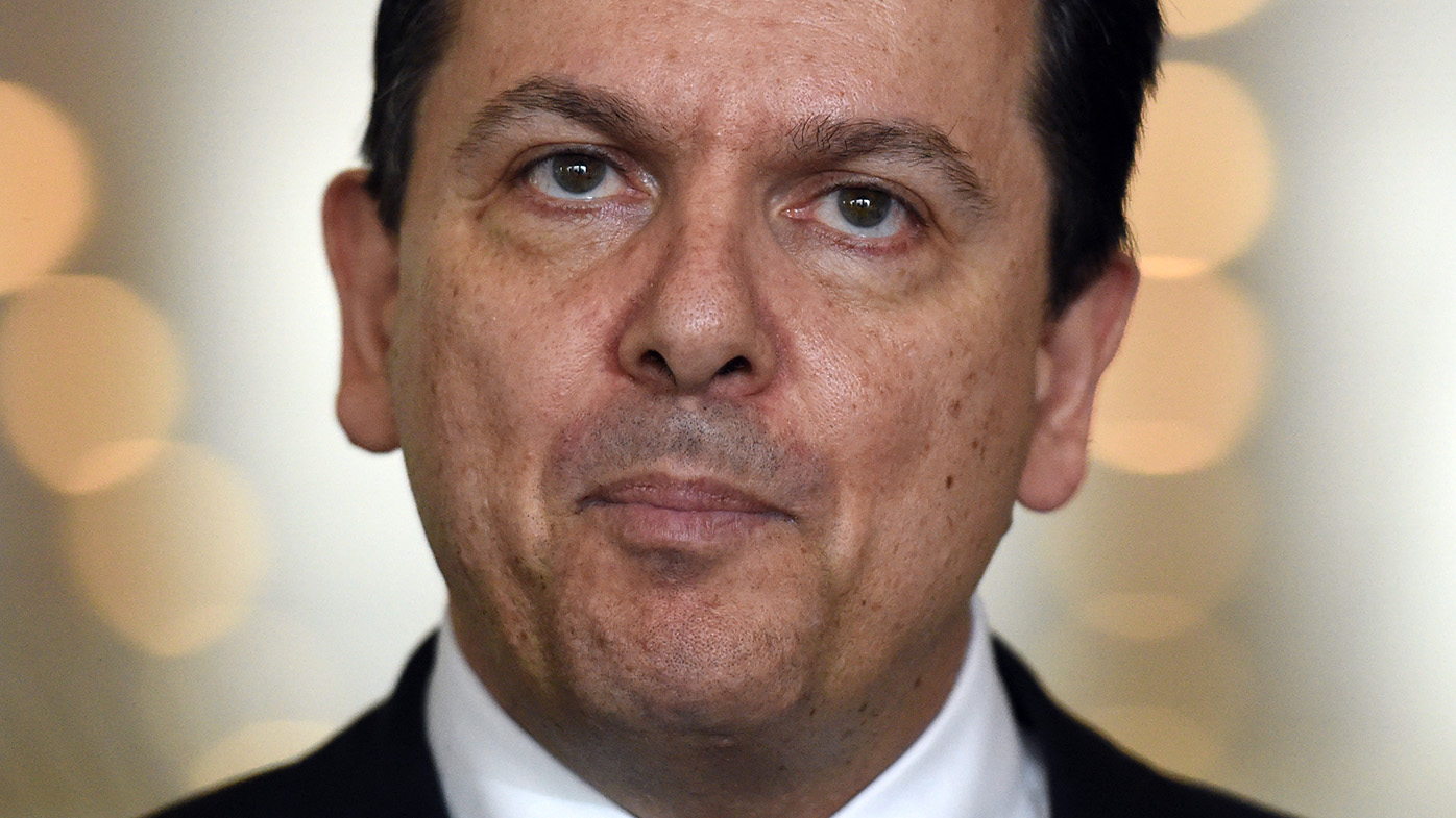 Nick Xenophon confirms he is a British overseas citizen