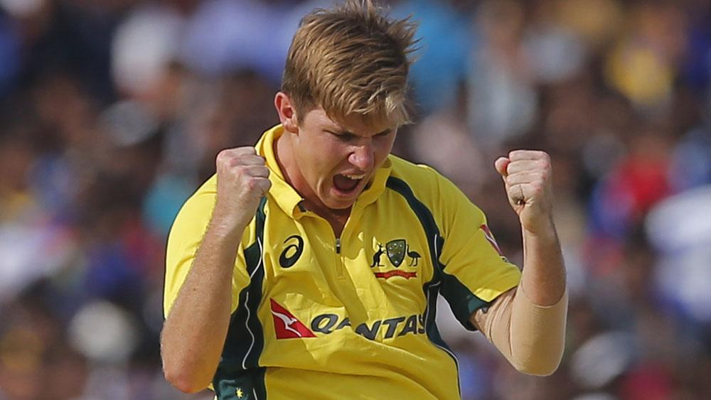 Australian spin bowler Adam Zampa. (AAP)