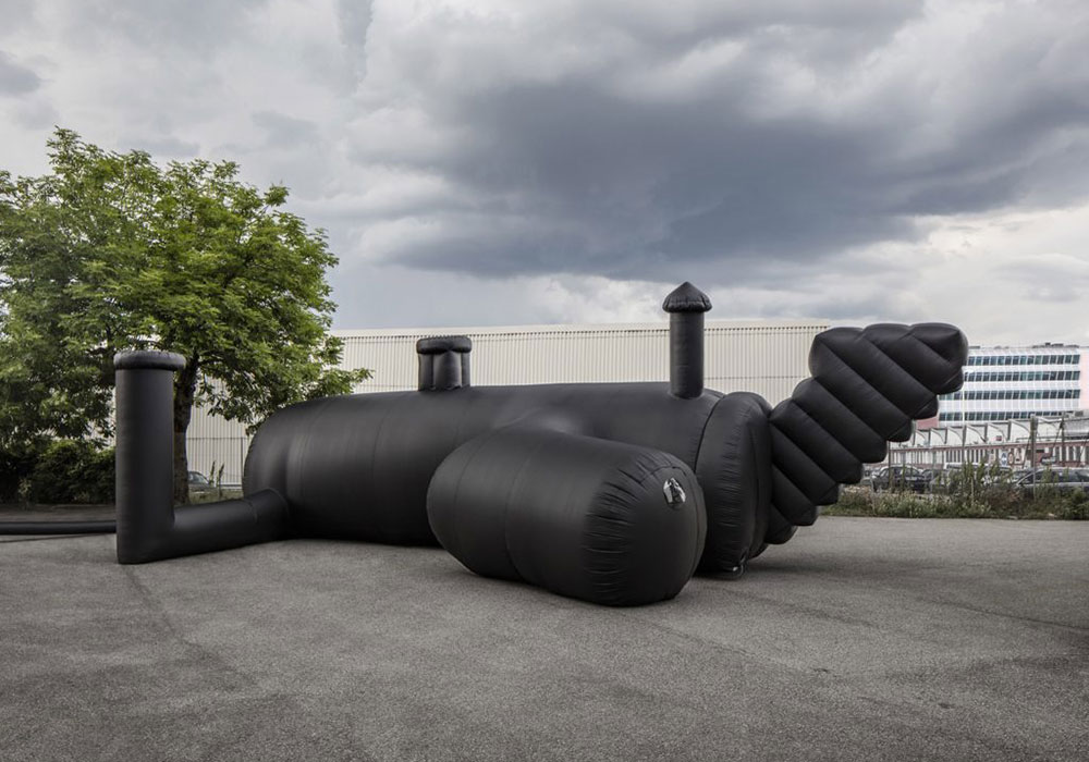 1. Inflatable nightclub