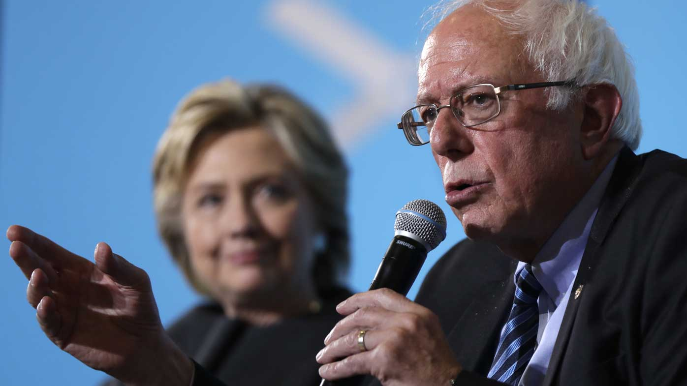 Clinton enlists Sanders to appeal to youth