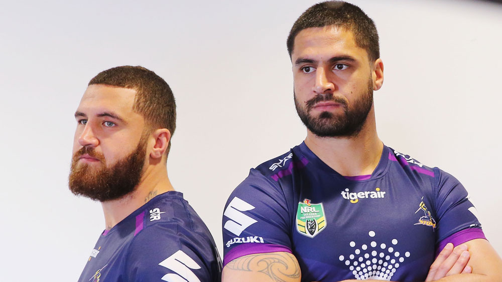 Kenny and Jesse Bromwich.(Getty)