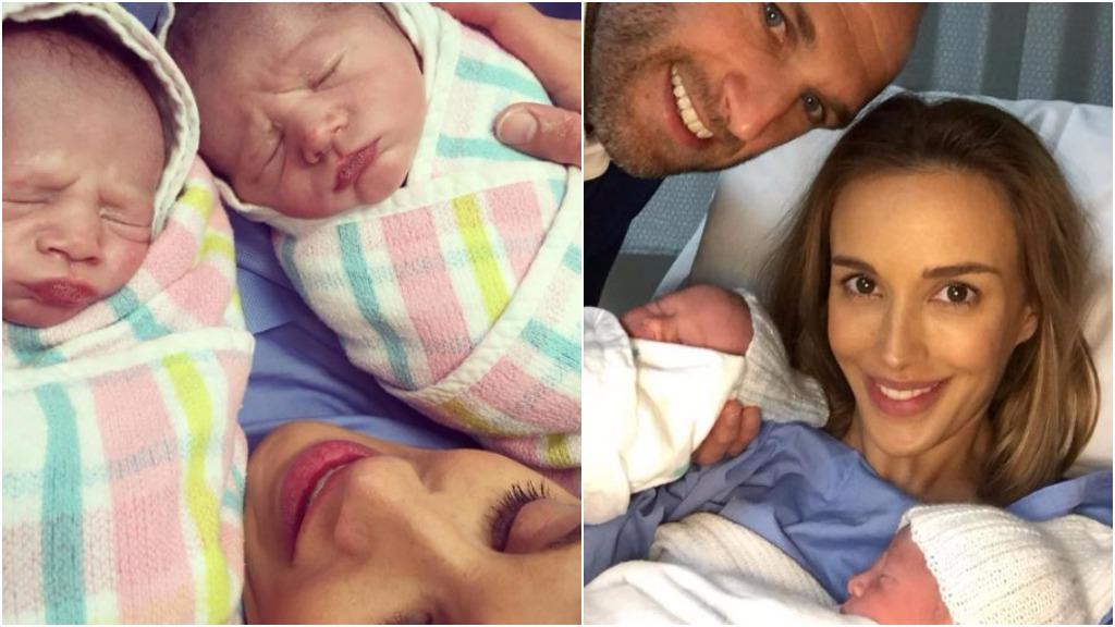 Rebecca and Chris Judd welcome twin boys