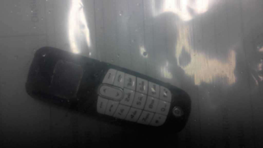 The seized mobile phone. (Supplied)