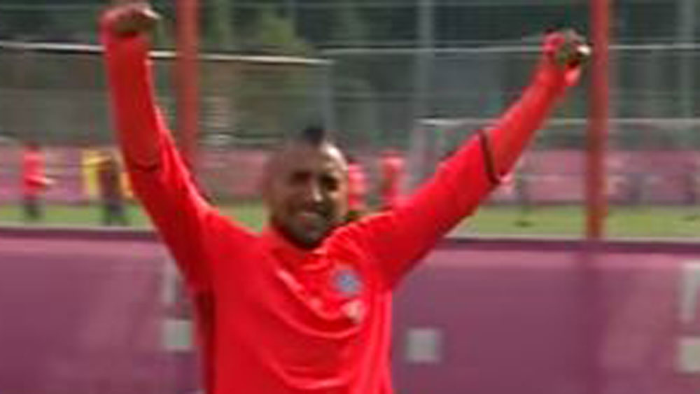 Bayern Munich star turns on a trick shot worth remembering