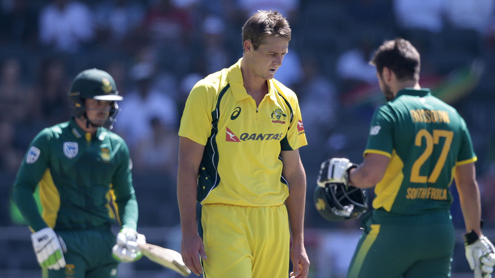 Joe Mennie's ODI debut turned into a nightmare against South Africa. (AFP)