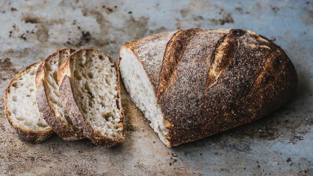 Brasserie Bread's easy whole wheat loaf