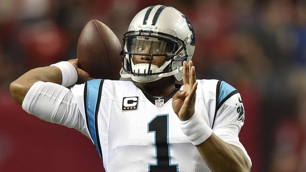 Carolina Panthers quarterback Cam Newton. (AAP)