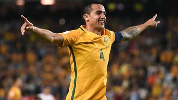 The Socceroos will be shown on the Nine Network. (File/AFP)