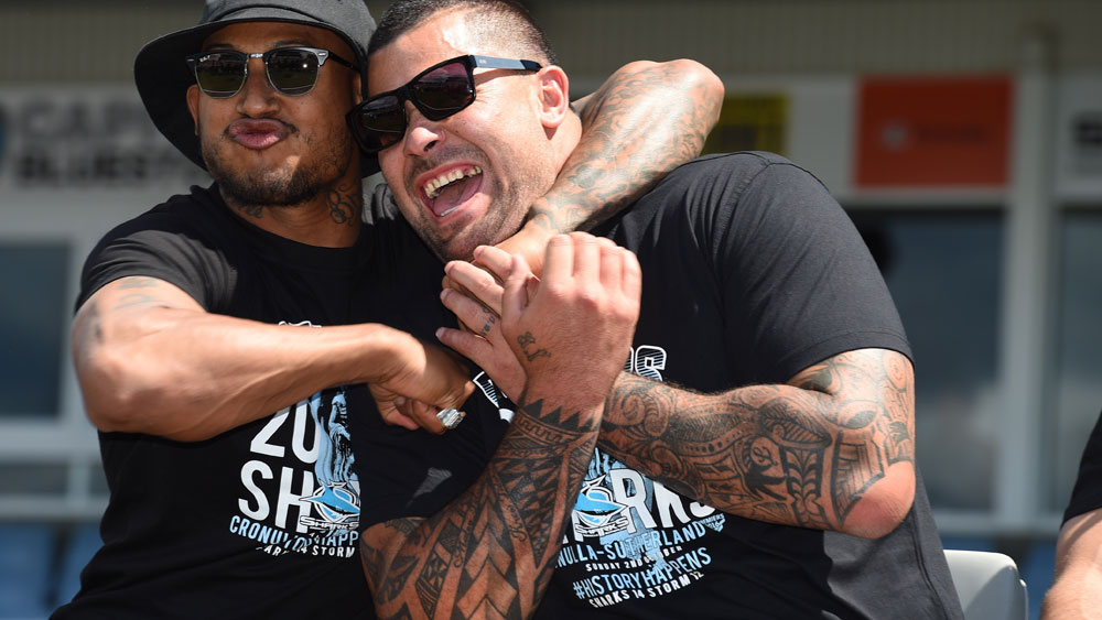 Andrew Fifita is threatening to quit the NRL. (AAP)