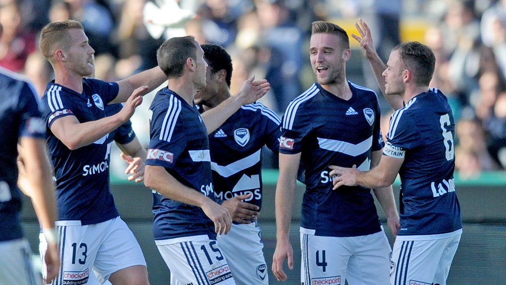 Melburne Victory have been tipped to return to the A-League summit. (AAP)