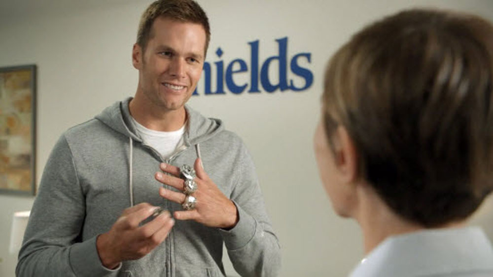 NFL: Brady shows off Super bling in hilarious commercial